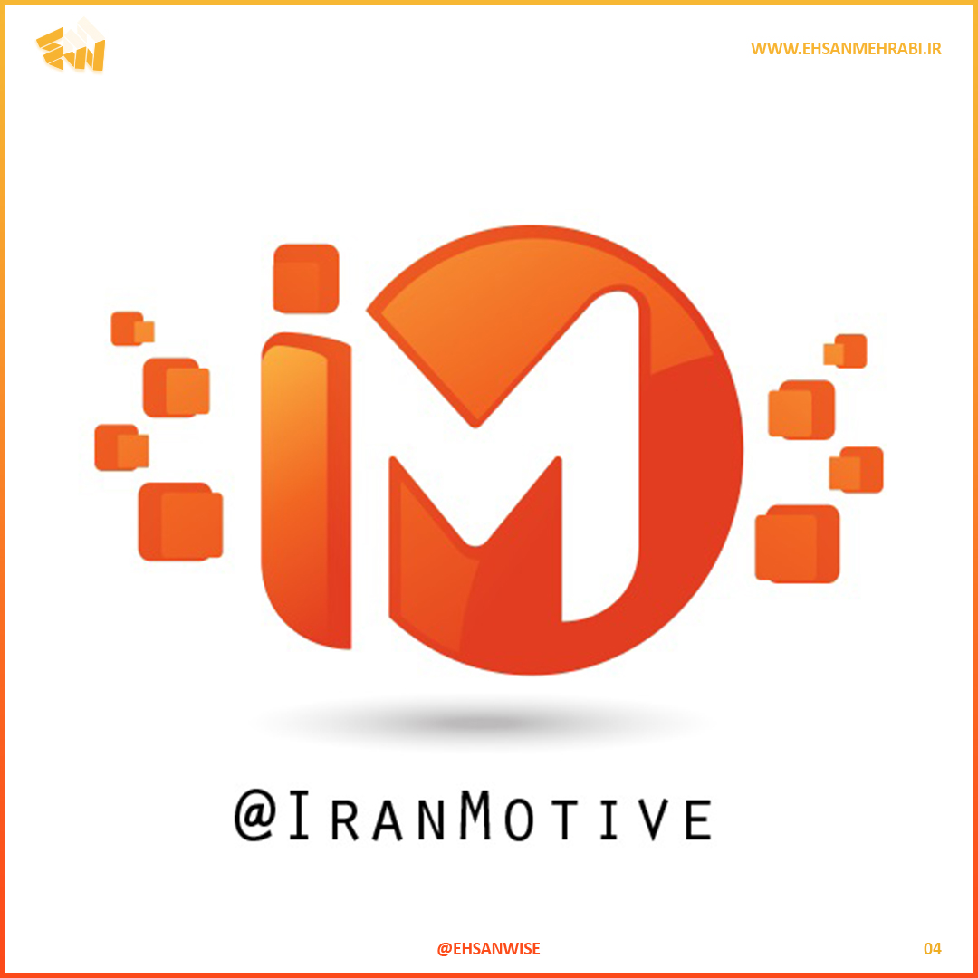 Iran Motive Logo Design